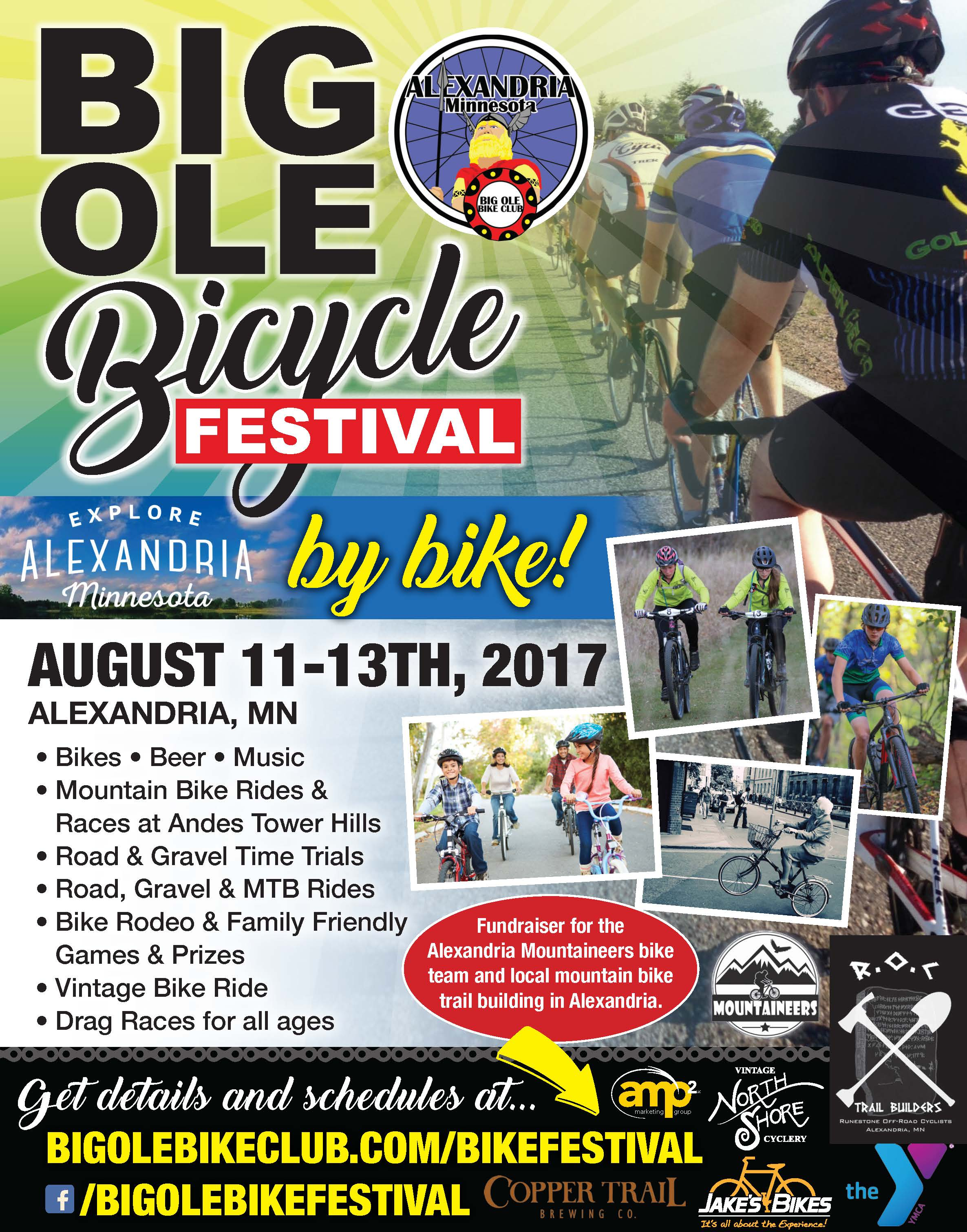 Big Ole Bicycle Festival - Central Lakes Trail