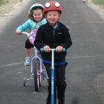 CLT Evansville Kellen's on bike trail