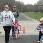 CLT Evansville Kirkowski's on Bike trail
